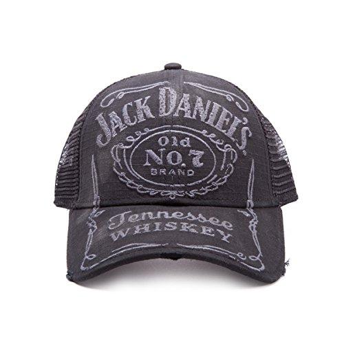 Jack Daniels Vintage Trucker Cap (Schwarz)