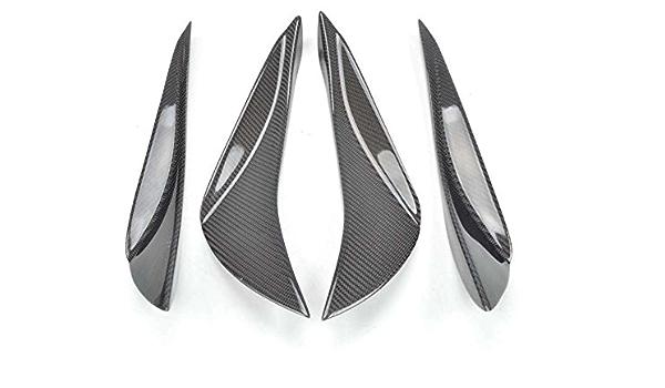 6stk Auto Front Stoßstange Flaps Splitter Fins Spoiler Flügel Canards Neu