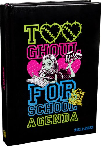 Agenda Monster High (MONSTER HIGH - Agenda Too Ghoul)