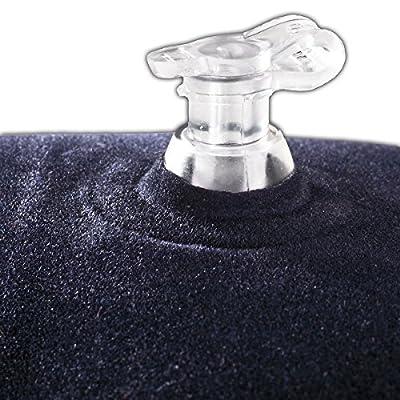 Black Crevice Nackenkissen, Blau, 44 x 28 x 8 cm, BCR3631