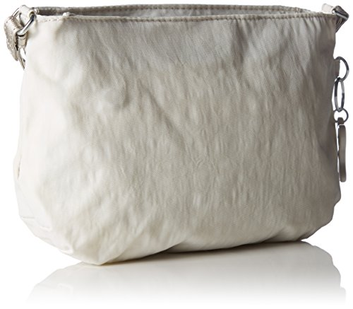 Kipling - Partybag Bpc, Borse Messenger Donna Winter White