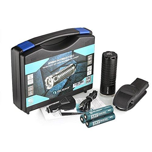 Preisvergleich Produktbild Olight® SR MINI Intimidator II Kit Taschenlampe mit Max. 3200 Lumen CREE XM-L2 LED und Wiederaufladbar Taschenlampe