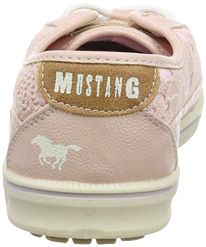 Mustang - 1194-303-555, Scarpe da ginnastica Donna Rosa (Pink (555 Rose))