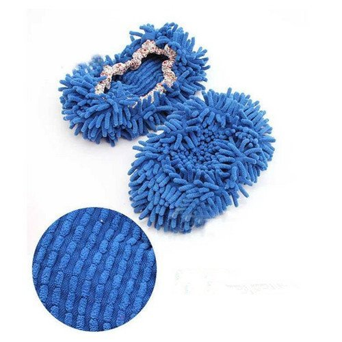 cute-dust-mop-slippers-shoes-floor-cleaner-clean-easy-bathroom-office-kitchen-blue