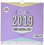 Mr. Wonderful - Calendario de pared ola 2019, aquí vamos (En Portugués)