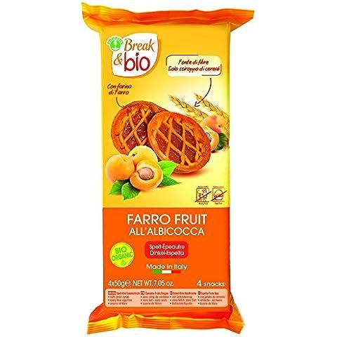 Break & Bio Farro Fruta Albaricoque Orgánica 300g