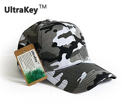 p, Armee Militärische Camo Gap Baseball casquette Tarnung Hüte für die Jagd Fischerei Outdoor Aktivitäten (Camo Armee Hut Für Erwachsene)