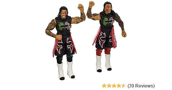 2 Pack Mattel DXG30 WWE Jimmy USO /& Jey USO Action Figure
