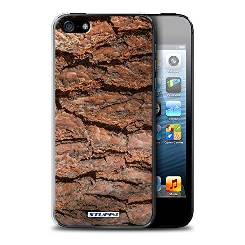 Stuff4 Hülle / Case für Apple iPhone 7 Plus / Moos/Feucht Muster / Baumrinde Kollektion Geschichteten/Braun