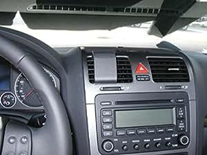 Brodit 853689 ProClip Kfz-Halterung für Volkswagen Golf 5 07-08 (Center Mount) schwarz