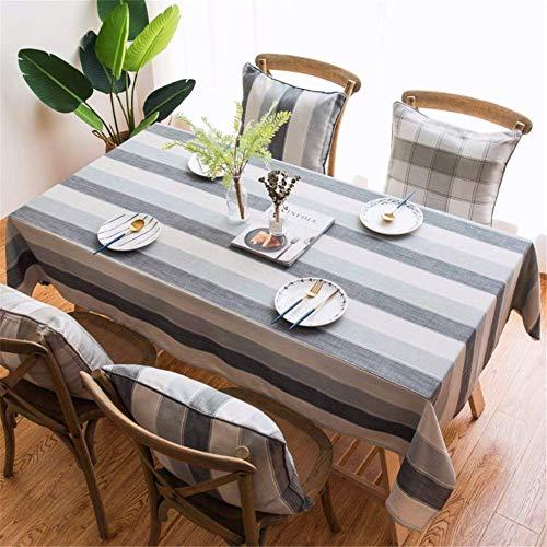 SONGHJ Baumwolle leinen tischdecke Stoff Kunst Quadrat tischdecke Tisch Kaffee Tisch Schreibtisch tischdecke Abdeckung Tuch B 110x170cm