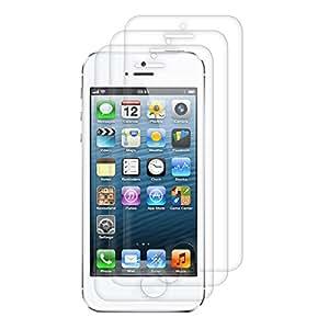 3x film de protection pour écran Apple iPhone 5 / 5S / 5C TRANSPARENT. Qualité supérieure signée kwmobile