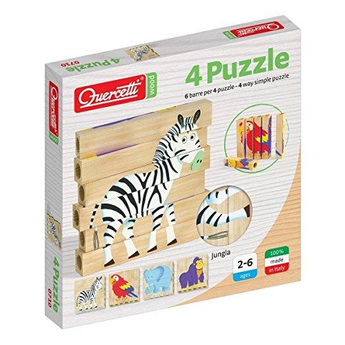 Quercetti 00710 - Puzzle Jungla