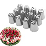 Uten 12pcs Icing Piping Nozzle Tips S...