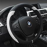 YOPRIA Prämie Fahrzeug Lenkradabdeckung Auto Lenkradschutz Universal Durchmesser 38cm (15