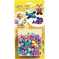 Basteln & Kreativität Dan Import HAMA Blister Eule 1.100 Stück Bügelperlen Perlen Spielzeug Kinder