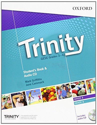 Trinity Graded Examinations in Spoken English (GESE): Trinity College London Graded Examinations in Spoken English (GESE) Grades 3-4: Student's Pack with Audio CD (Trinity Graded Exams)