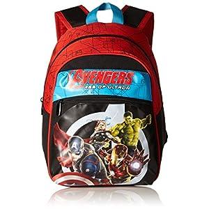51u6FOvtkDL. SS300  - Avengers Vengadores - Mochila de la Escuela, pequeños, de Asilo, de Color Rosa, 9L