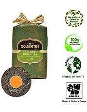 Golden Tips Earl Grey Green Tea Brocade Bag