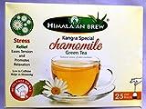 #10: CHAMOMILE GREEN TEA 25 TEA BAGS