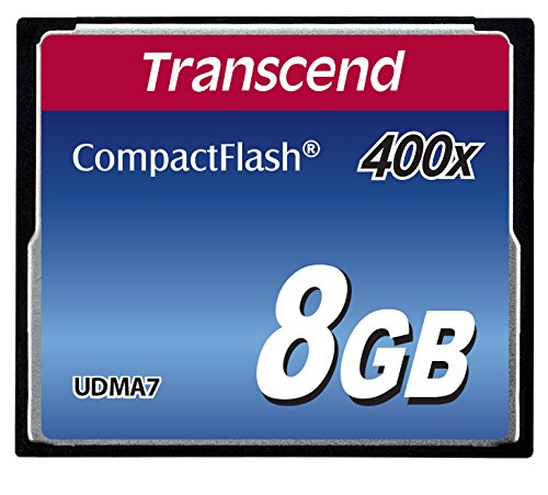 Transcend 400x 8GB Compact Flash Speicherkarte