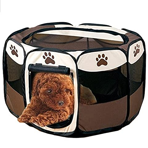 Folding Pet Tent, Amazingdeal365 Portable Playing House for Small Dog and Cats