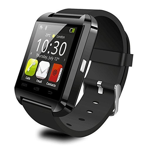 Bluetooth Smart Watch for Android & iOS Smartphones, Hinmay U8 Smartwatch Fitness...