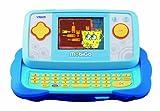 VTech MobiGo - Consola de juegos educativos con juego Bob Esponja, color azul (80-115822)