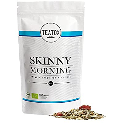 TEATOX Skinny Morning, thé vert biologique avec maté