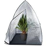 Bio Green - Protector de invierno para plantas, 120 x 120 x 180 cm, diseño de iglú, transparente