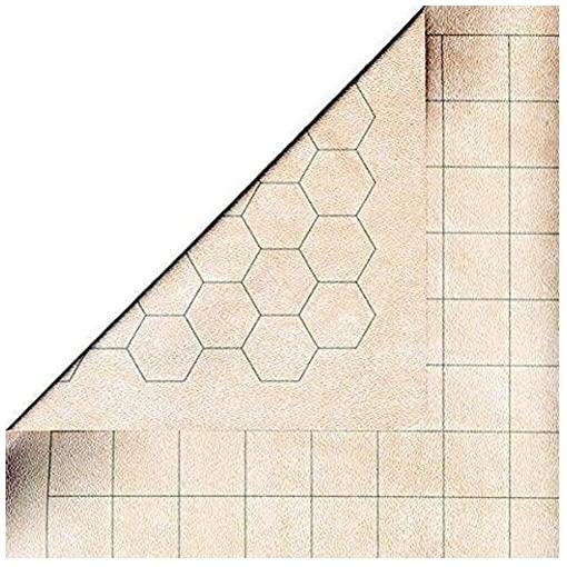 Chessex-Role-Playing-Play-Mat-MEGAMAT-Double-Sided-Reversible-Mat-for-RPGs-and-Miniature-Figure-Games-34-12in-x-48in-by-Chessex Chessex Role Playing Play Mat: MEGAMAT Double-Sided Reversible Mat for RPGs and Miniature Figure Games – 34 1/2in x 48in by Chessex -