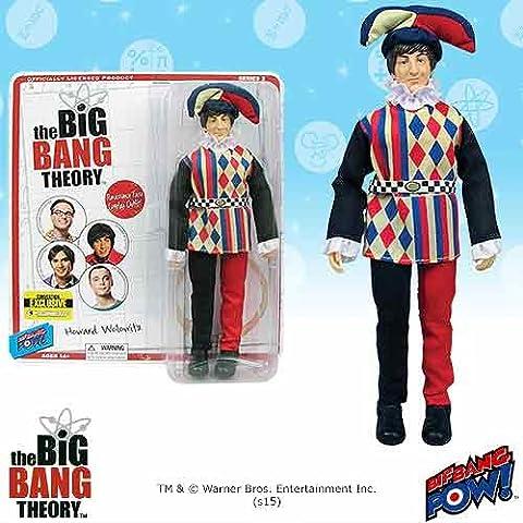 Bif Bang Pow The Big Bang Theory Howard Bufón 8-Inch Figura - Con. Excelente