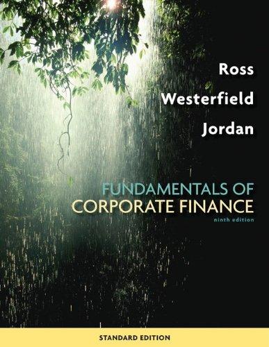Fundamentals of Corporate Finance Standard Edition