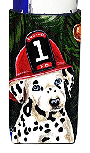 fire-fighter-christmas-dalmatian-michelob-ultra-koozies-for-slim-cans-amb1317muk