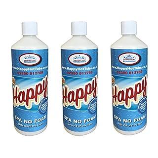 Happy Hot Tubs 3l No Foam Away Anti Foamer Fix Foaming Chemicals Hot Tub Spa Hottub Spas