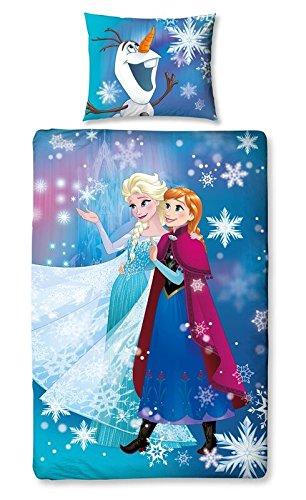 Bettwäsche Eiskönigin Frozen Blizzard Disney-Bettbezug Einzelbett