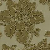Tapeten MUSTER EDEM 979-Serie | Hochwertige Luxus Floral Vliestapeten kunstvolles 3D Struktur Blumen-Dekor, 979-XX:S-979-38