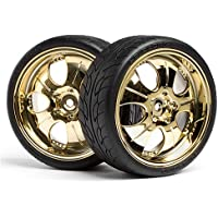 HPI 4723 Mounted Super Low Tread Tire (Gold/4Pcs) - Compare prices on radiocontrollers.eu