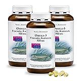 Sanct Bernhard Omega-3 Fischöl-Kapseln 500 mg