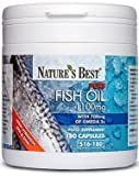 Nature's Best Pure Fish Oil 1100mg - 180 Capsules