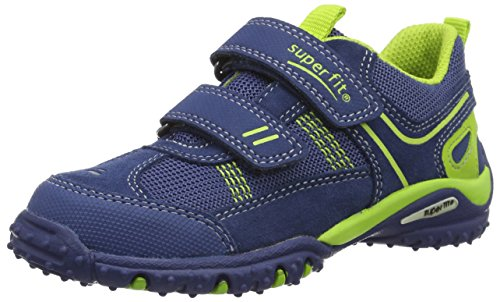 Superfit Sport4 Jungen Sneakers Blau (Water Kombi 88)