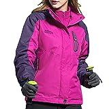 Luckycat Damen Wintermantel Zweiteiler DREI In Einem Atmungsaktiv Warme Kleidung Jacken Mäntel Sweatjacke Winterjacke Fleecejacke Steppjacke