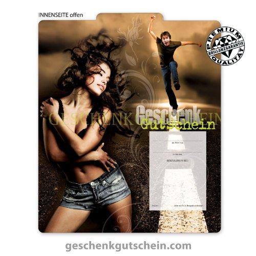 25 Stk. Multicolor-Geschenkgutscheine für Mode, Bekleidung, Fashion, Jeans FA237 (Bekleidung Geschenkgutscheine)