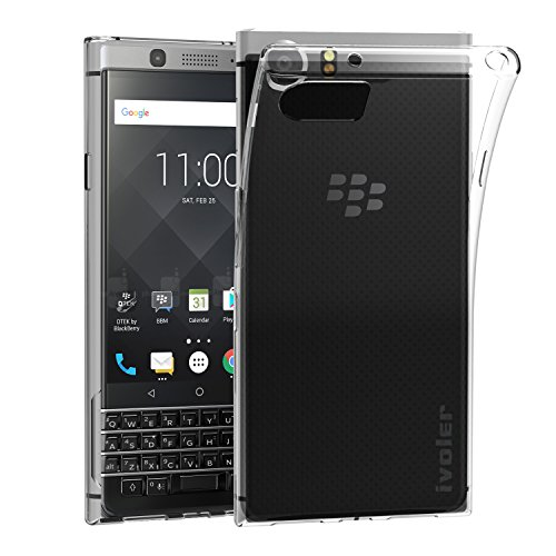 custodia-cover-blackberry-keyone-ivoler-blackberry-keyone-silicone-caso-molle-di-tpu-cristallo-trasp