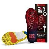 CURREX RunPro Sohle Low Profile. Entdecke deine neue Dimension des Laufens. Performance Einlegesohle für Sport, Jogging, Running. Gr EU 42-44