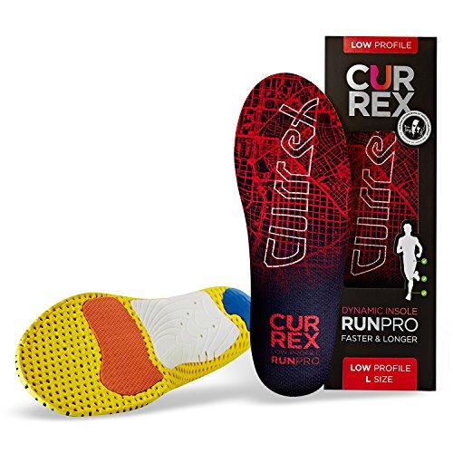 CURREX RunPro Sohle Low Profile. Entdecke deine neue Dimension des Laufens. Performance Einlegesohle für Sport, Jogging, Running. Gr EU 37-39 - Low-profile-bar