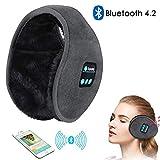 Bluetooth-Ohrenschützer-Kopfhörer, drahtloser HD-Stereo-Musik-Ohrwärmer, Freisprecheinrichtung mit integriertem Lautsprecher Spazieren, Laufen, Skifahren, Indoor-Outdoor-Aktivitäten