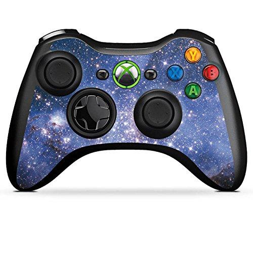 Microsoft Xbox 360 Controller Folie Skin Sticker aus Vinyl-Folie Aufkleber Galaxy Galaxie Pattern