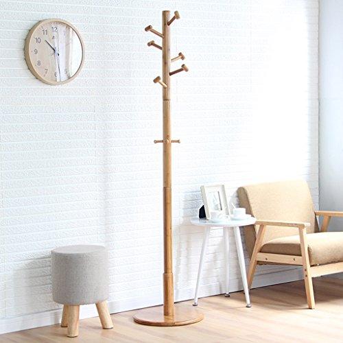 LYM Stehender Huthänger Mantel Hut Rack Bambus Stand, Hall Baum mit 9 Haken Display Stand Einfache Montage von Coat Regale ( größe : 172*40CM )