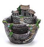 PIXNOR Vaso per piante fiore fioriera Bonsai trogolo casella pianta Giardino (argento)